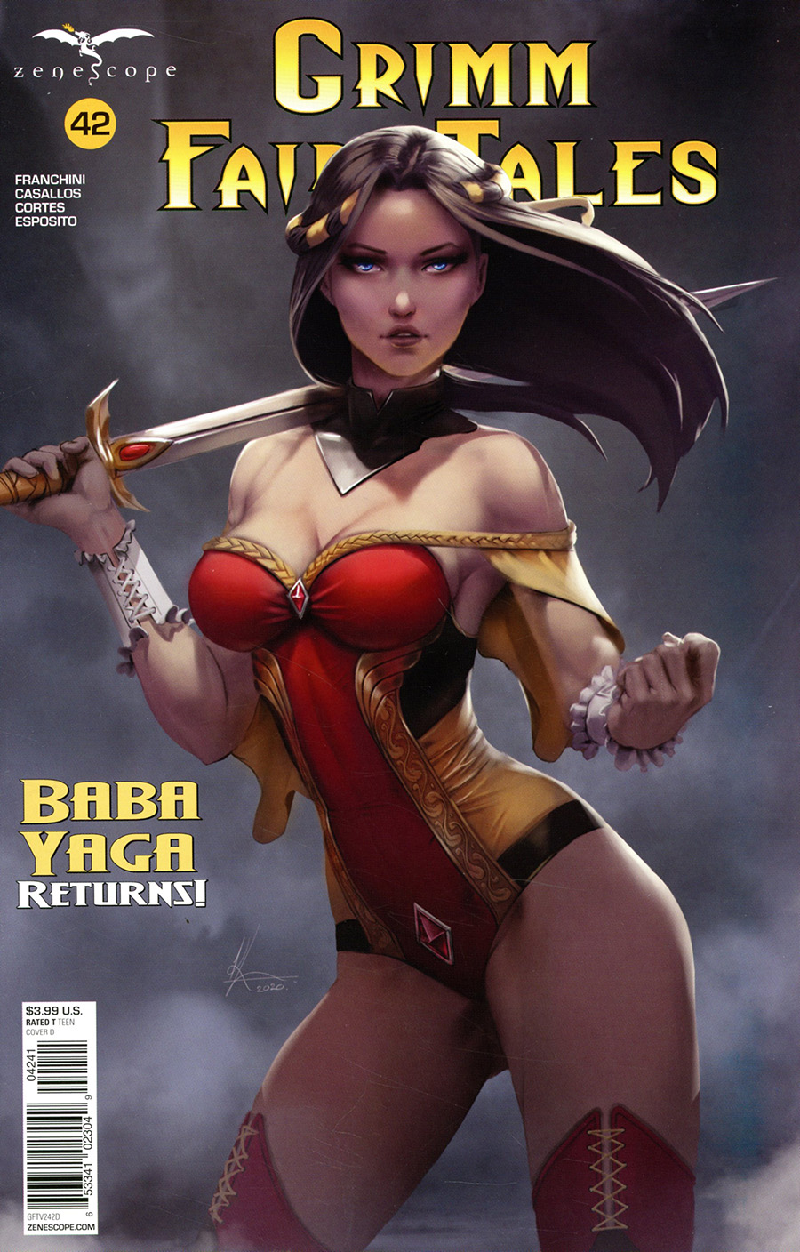 Grimm Fairy Tales Vol 2 #42 Cover D Karl Liversidge