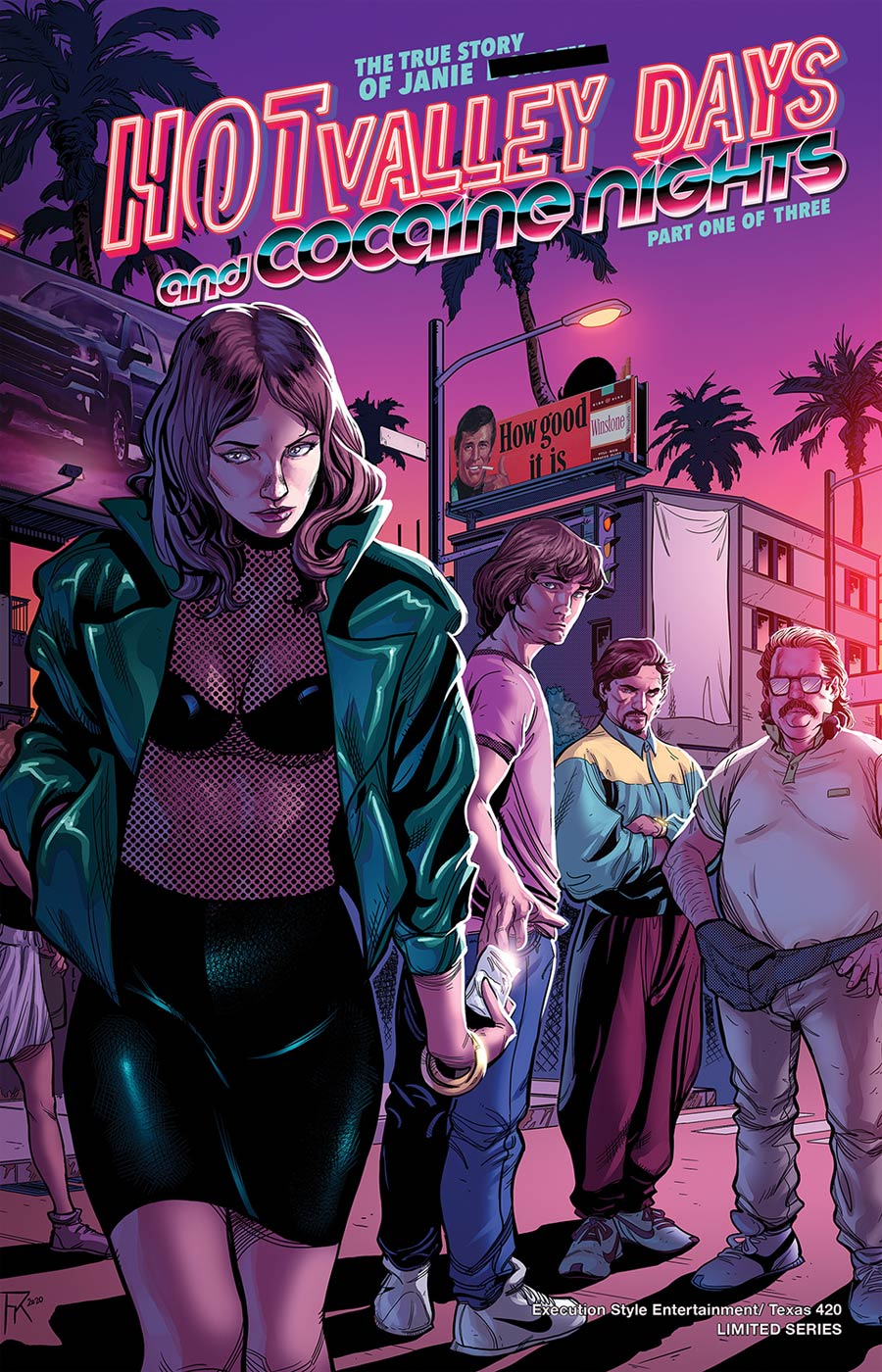 Hot Valley Days And Cocaine Nights #1 Cover A Regular Cover