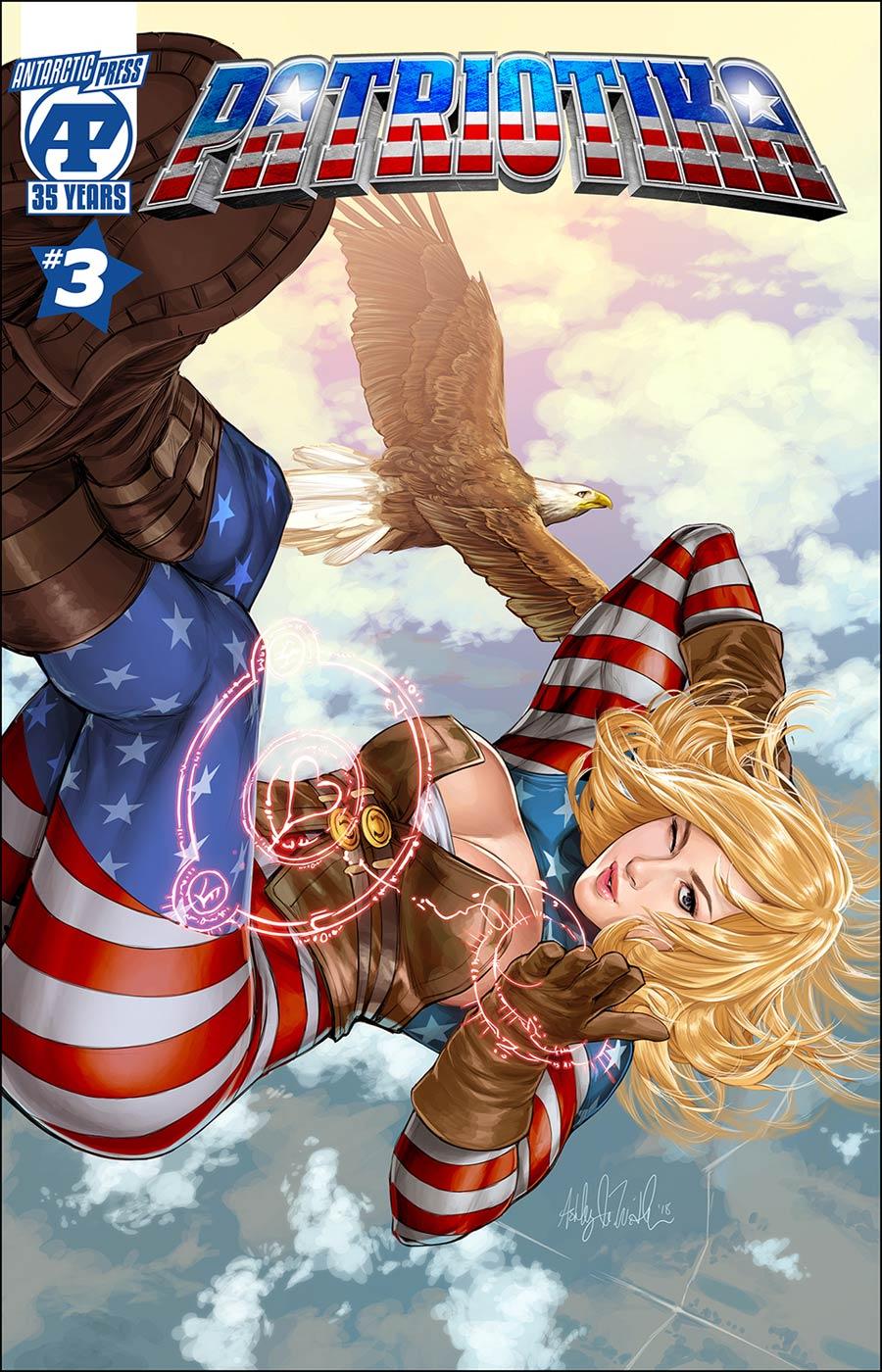 Patriotika #3 Cover A Regular Chuck Art Cover