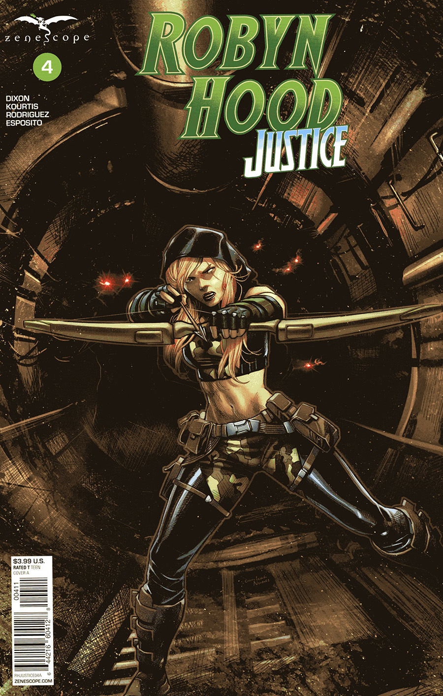 Grimm Fairy Tales Presents Robyn Hood Justice #4 Cover A Martin Coccolo