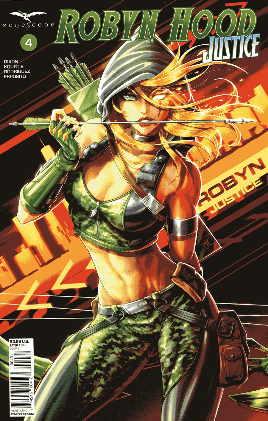 Grimm Fairy Tales Presents Robyn Hood Justice #4 Cover C Jason Cardy