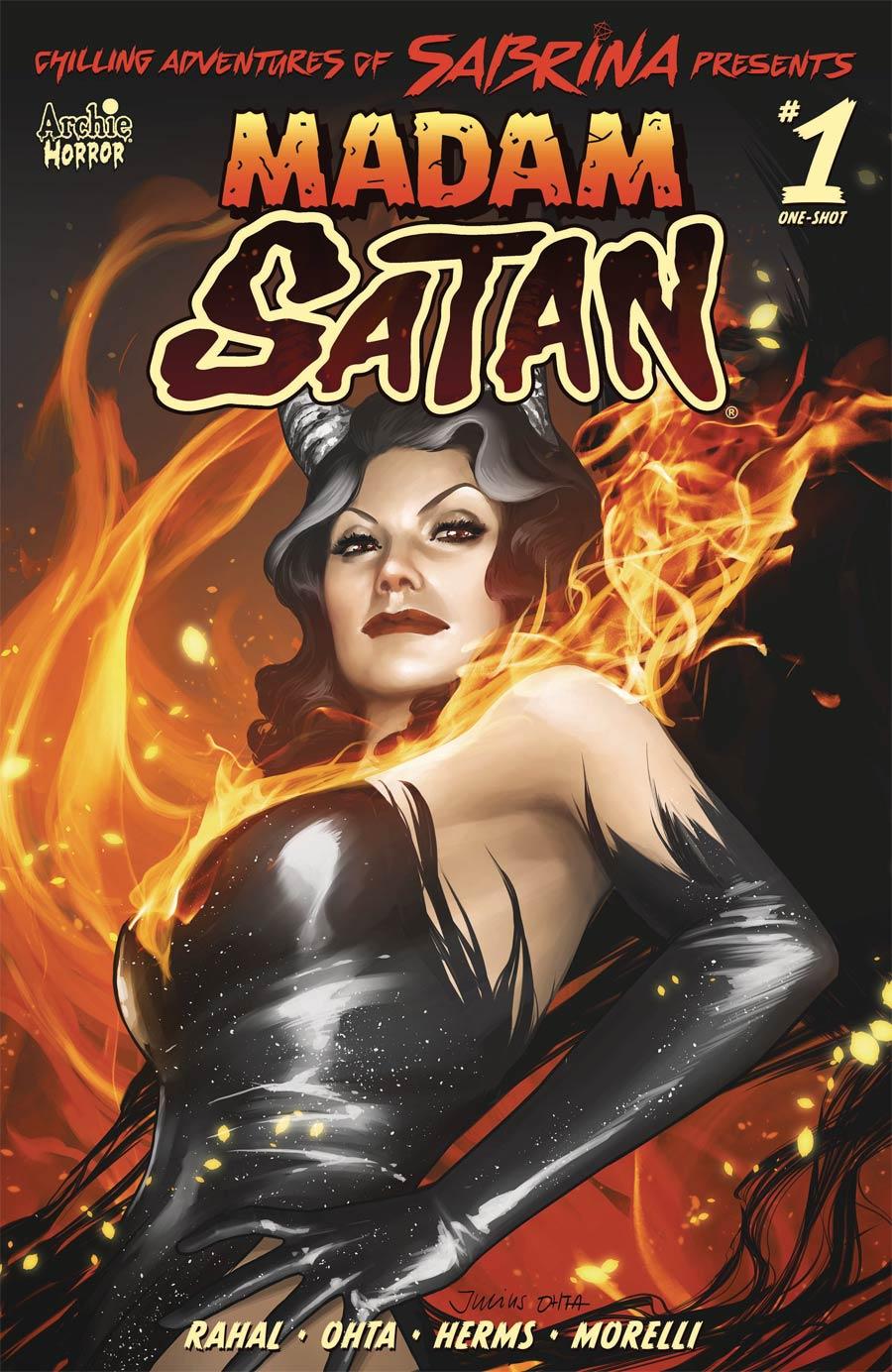 Chilling Adventures Of Sabrina Presents Madame Satan One Shot Cover A Regular Julius Ohta Cover