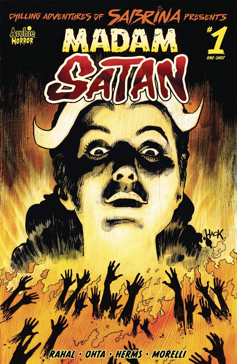 Chilling Adventures Of Sabrina Presents Madame Satan One Shot Cover B Variant Robert Hack Cover