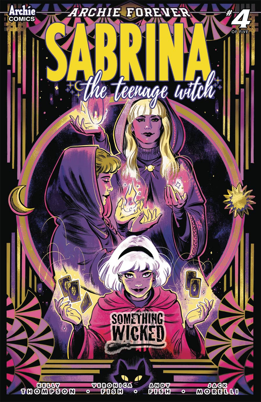 Sabrina The Teenage Witch Something Wicked #4 Cover A Regular Veronica Fish Cover