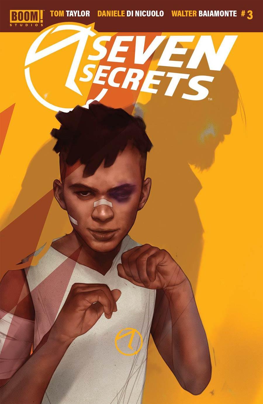 Seven Secrets #3 Cover B Variant Ben Oliver Secret Cover