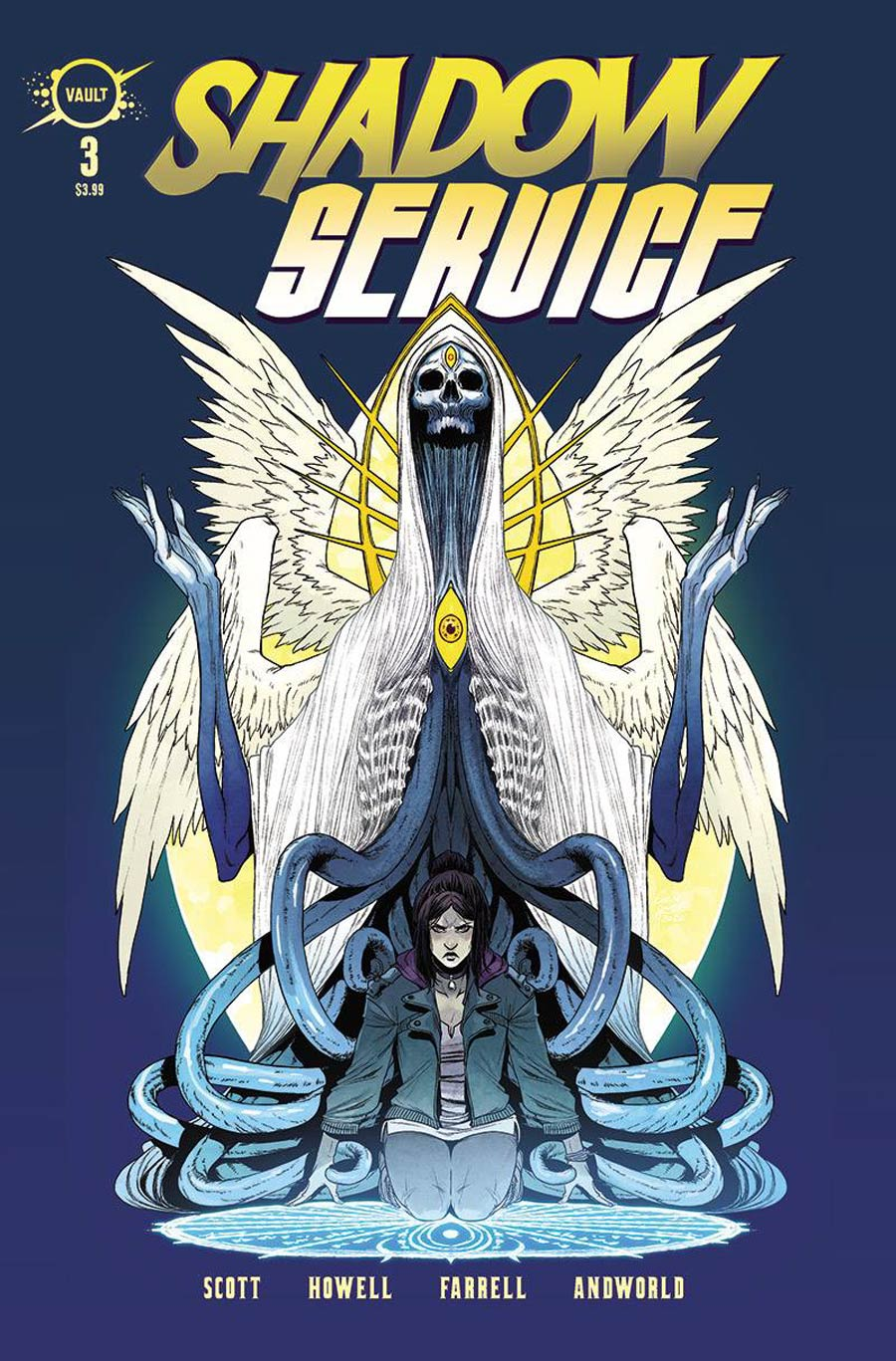 Shadow Service #3 Cover A Regular Corin Howell & Triona Farrell Cover