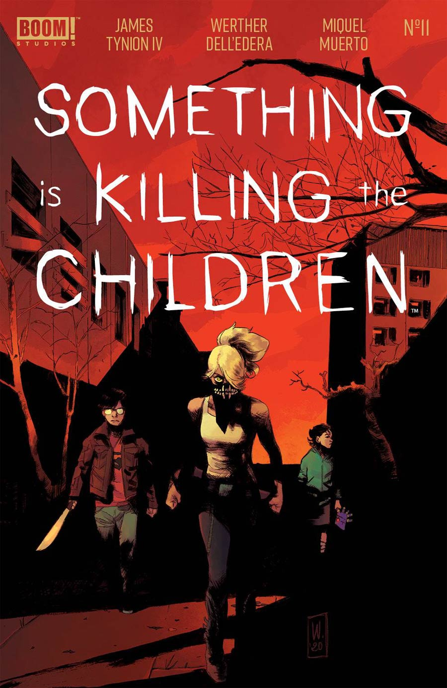 Something Is Killing The Children #11 Cover A Regular Werther Dell Edera Cover