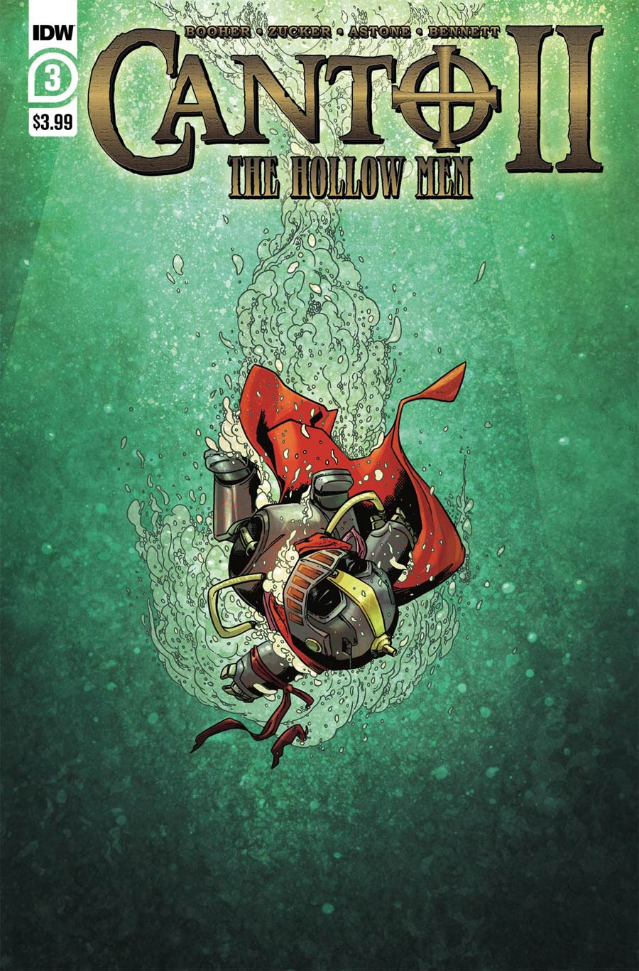 Canto II Hollow Men #3 Cover A Regular Drew Zucker Cover