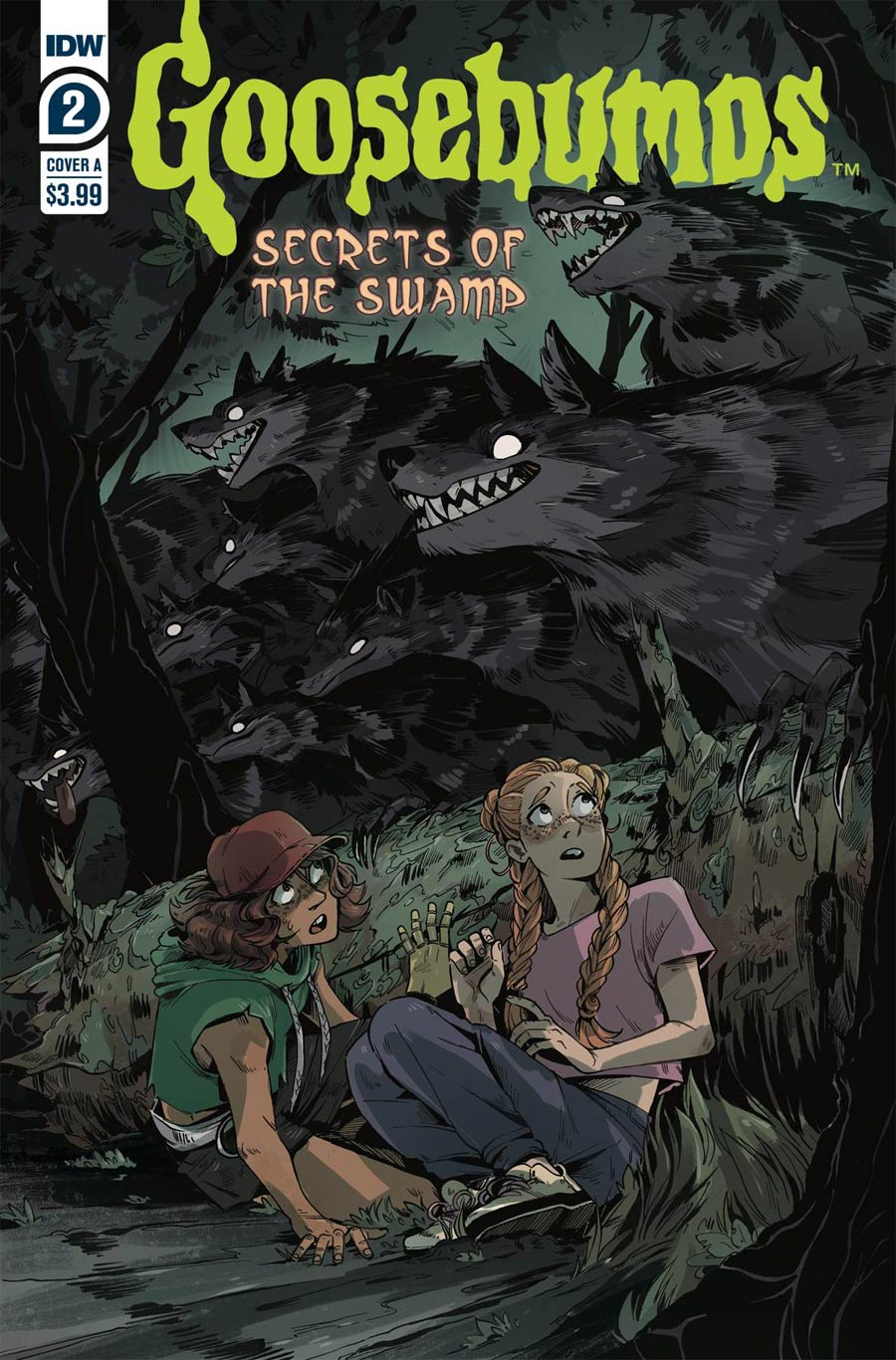 Goosebumps Secrets Of The Swamp #2 Cover A Regular Bill Underwood Cover
