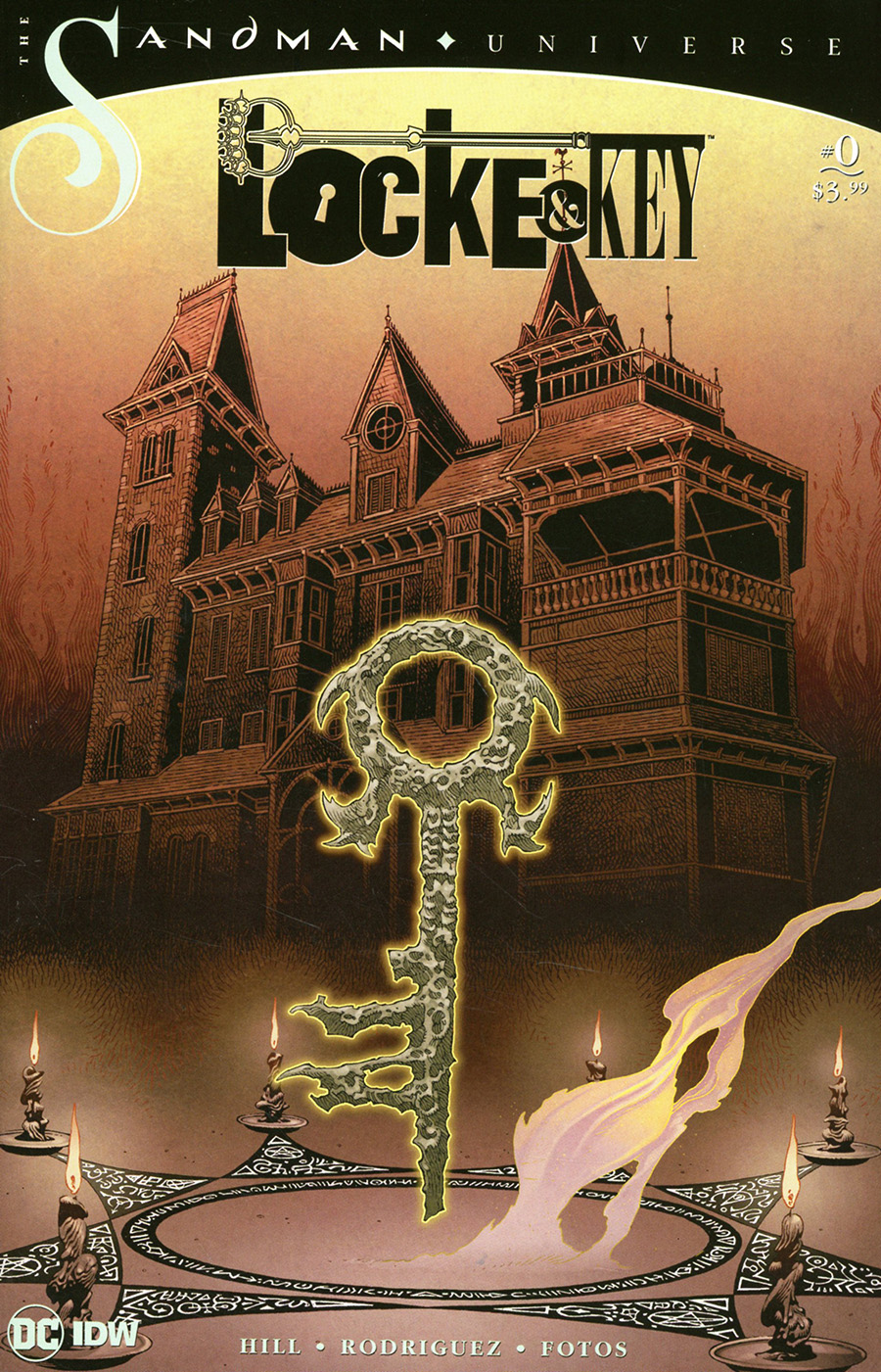 Locke & Key Sandman Hell & Gone #0