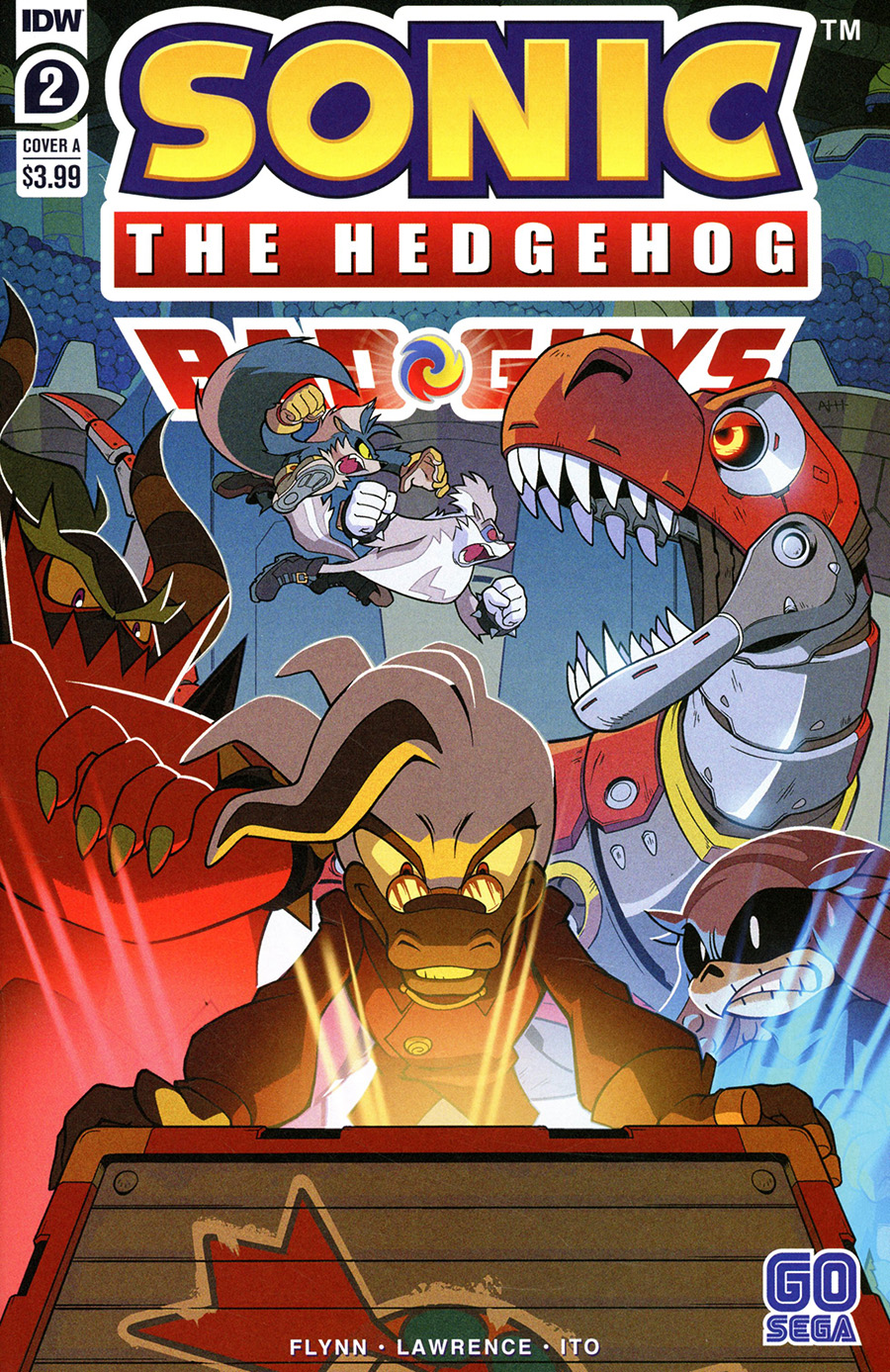 Sonic The Hedgehog Bad Guys #2 Cover A Regular Aaron Hammerstrom Cover