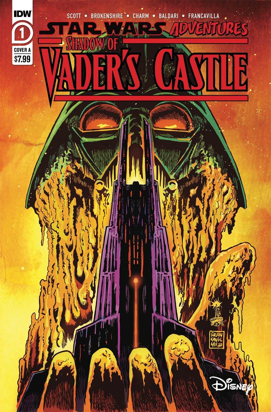 Star Wars Adventures Shadow Of Vaders Castle Cover A Regular Francesco Francavilla Cover