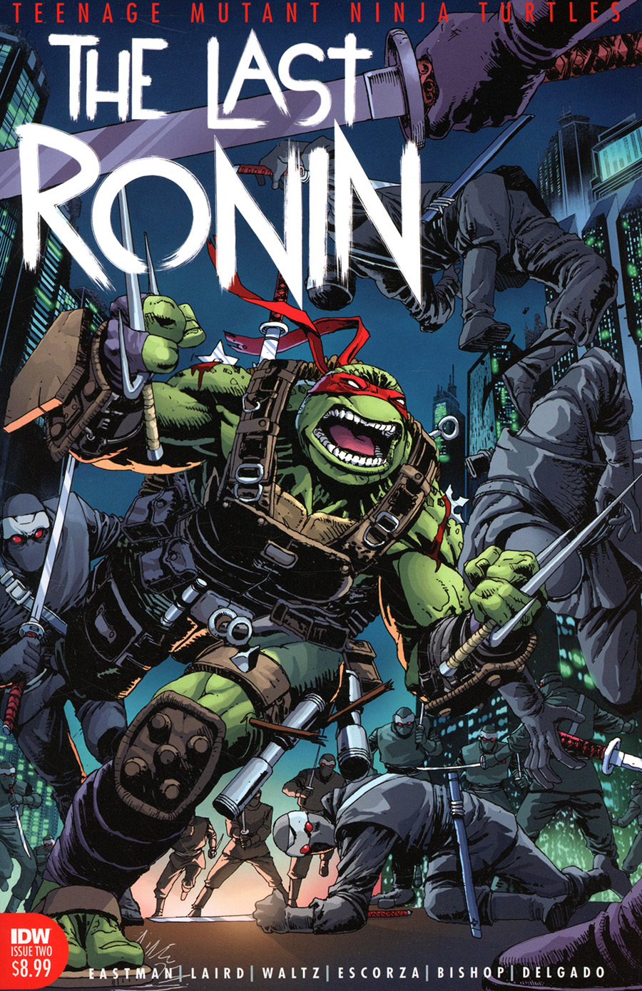 Teenage Mutant Ninja Turtles The Last Ronin #2 Cover A Regular Kevin Eastman & Andy Kuhn Cover