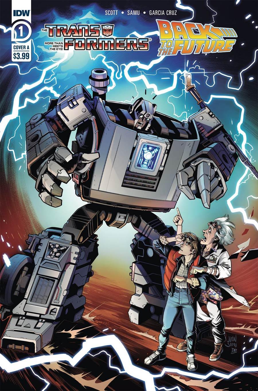 Transformers Back To The Future #1 Cover A Regular Juan Samu Cover