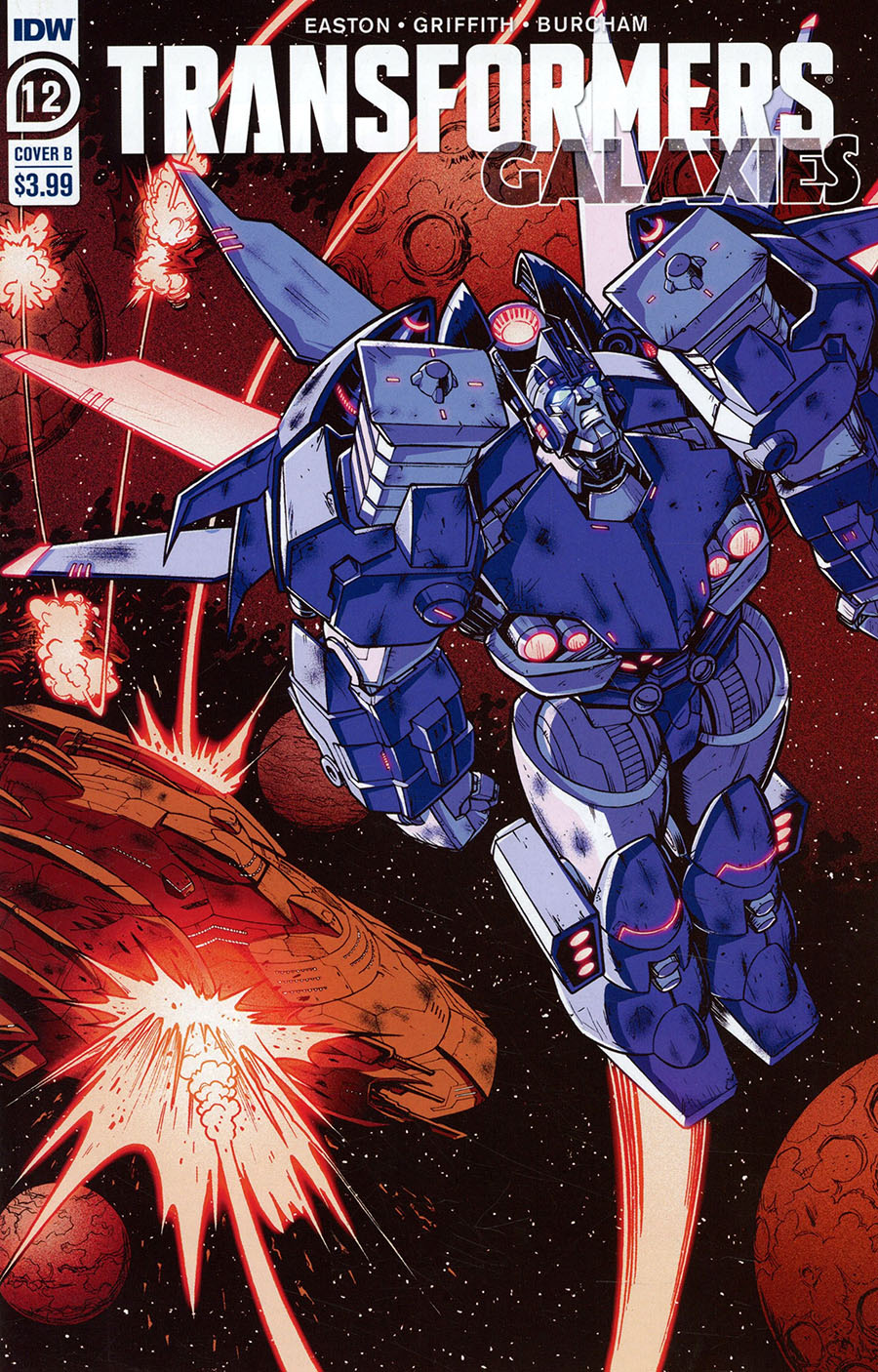 Transformers Galaxies #12 Cover B Variant Nick Roche Cover