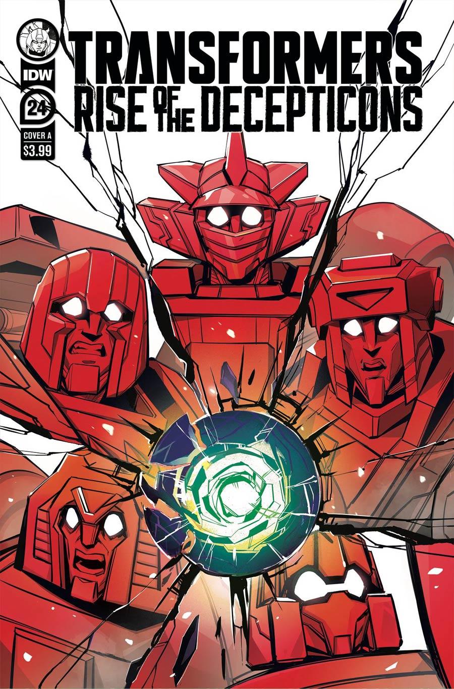 Transformers Vol 4 #24 Cover A Regular Beth McGuire-Smith Cover