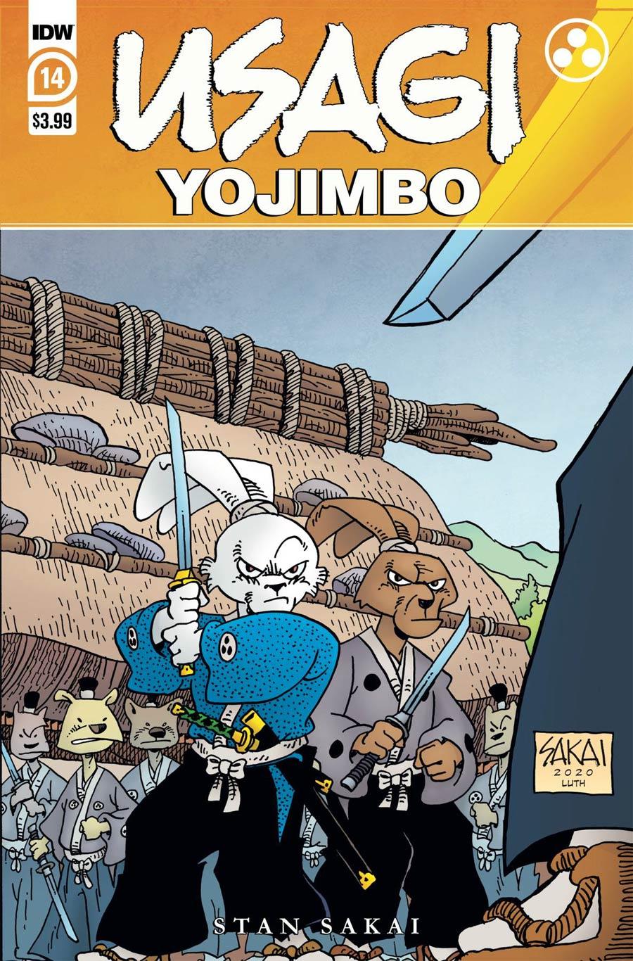 Usagi Yojimbo Vol 4 #14