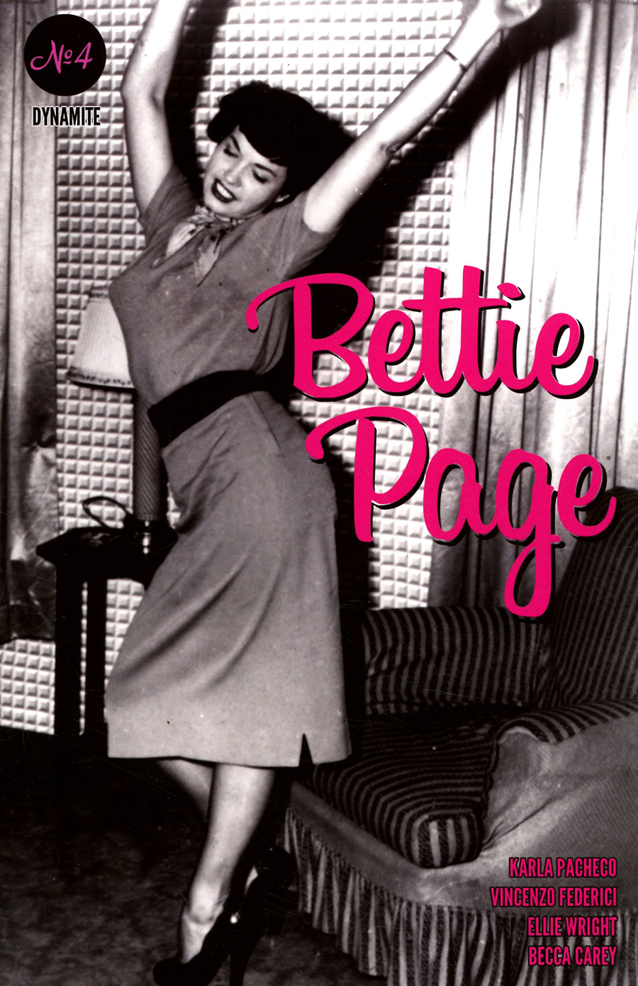 Bettie Page Vol 3 #4 Cover E Variant Bettie Page Photo Cover