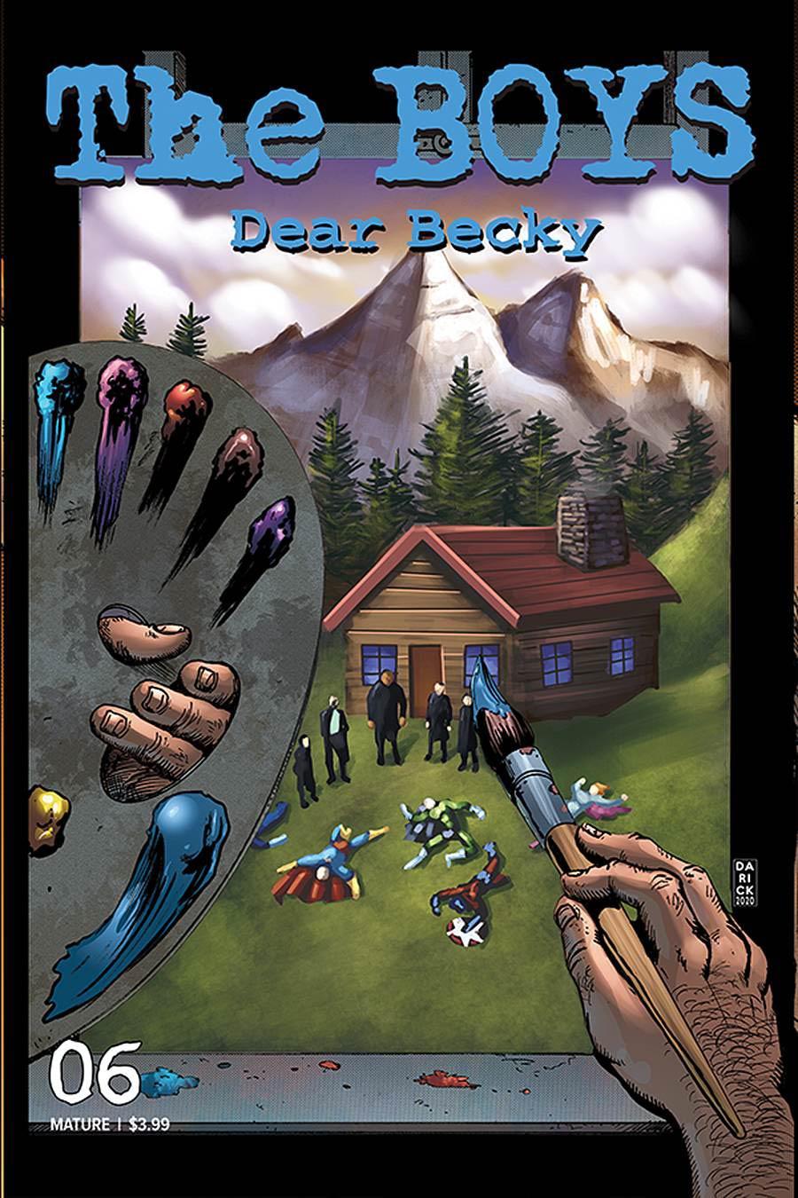 Boys Dear Becky #6 Cover A Regular Darick Robertson Cover