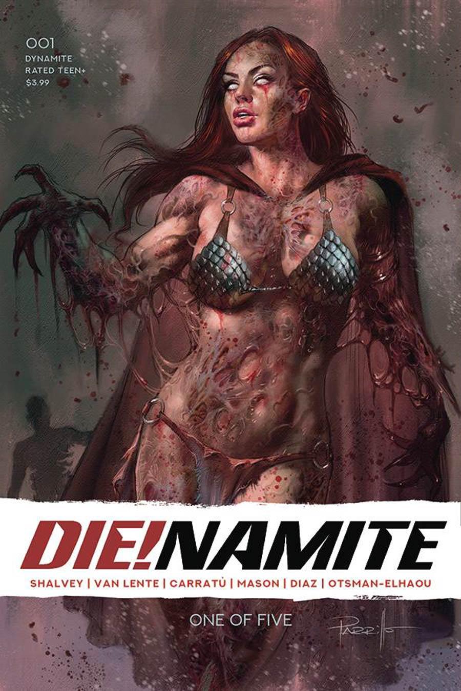 DieNamite #1 Cover A Regular Lucio Parrillo Cover