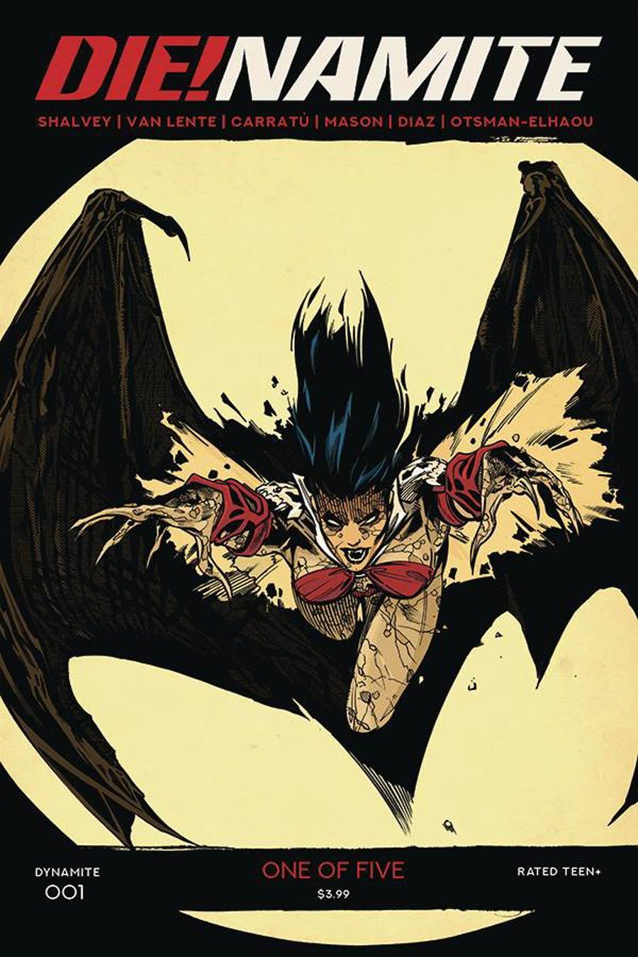 DieNamite #1 Cover E Variant Stephen Mooney Classic Batman Homage Cover