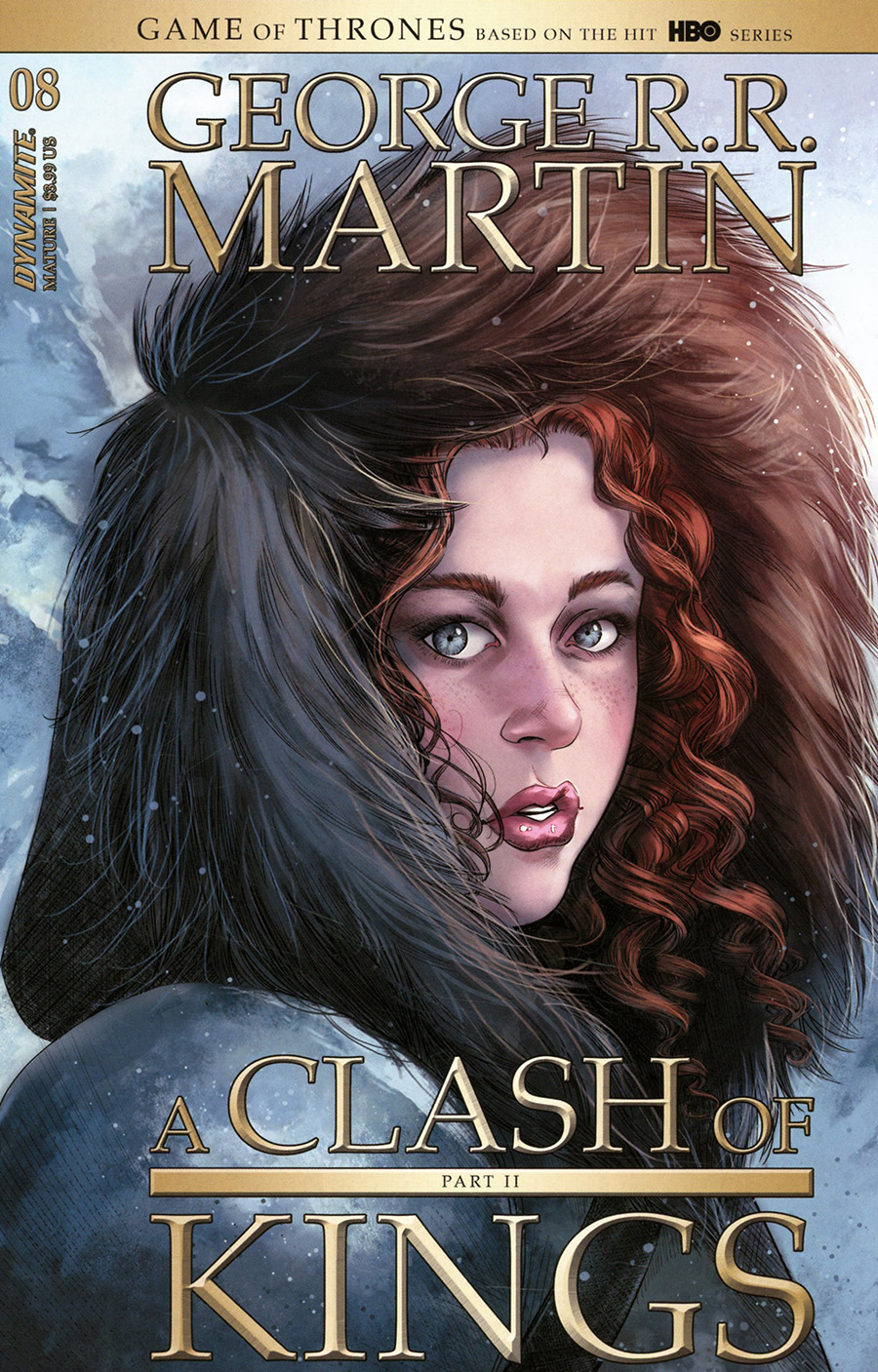 Game Of Thrones Clash Of Kings Vol 2 #8 Cover A Regular Mike Miller Cover