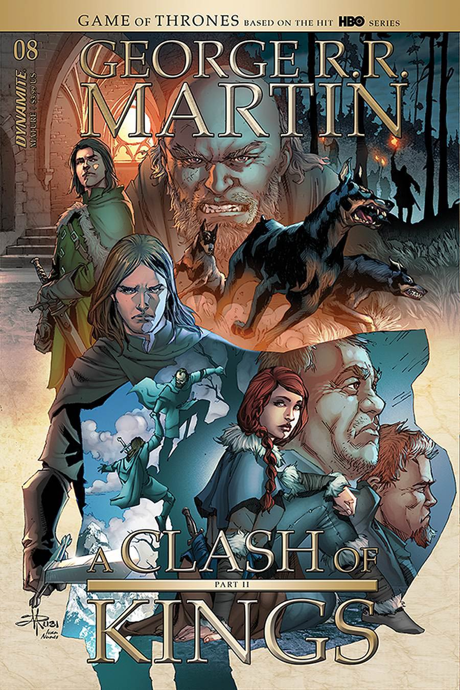Game Of Thrones Clash Of Kings Vol 2 #8 Cover B Variant Mel Rubi Cover