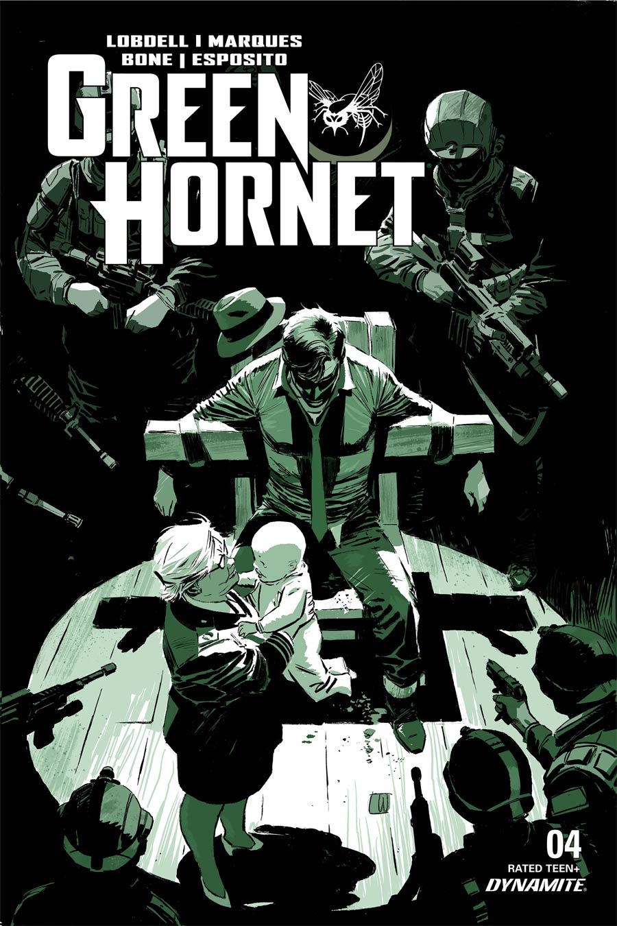 Green Hornet Vol 5 #4 Cover A Regular Lee Weeks Cover