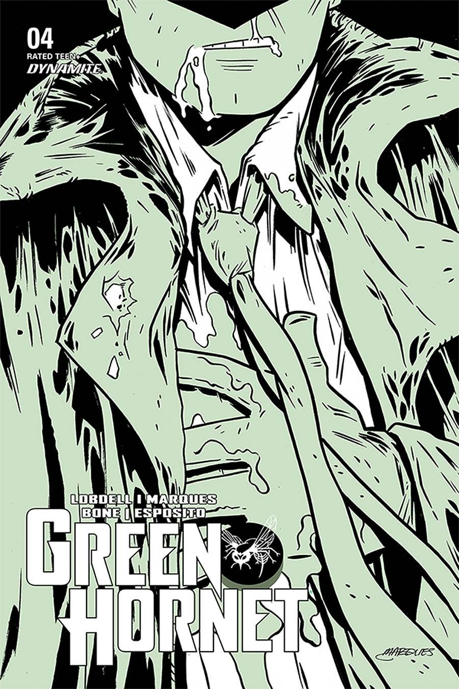 Green Hornet Vol 5 #4 Cover B Variant Anthony Marques Cover