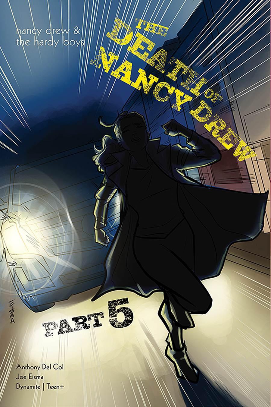 Nancy Drew And The Hardy Boys Death Of Nancy Drew #5 Cover A Regular Joe Eisma Cover