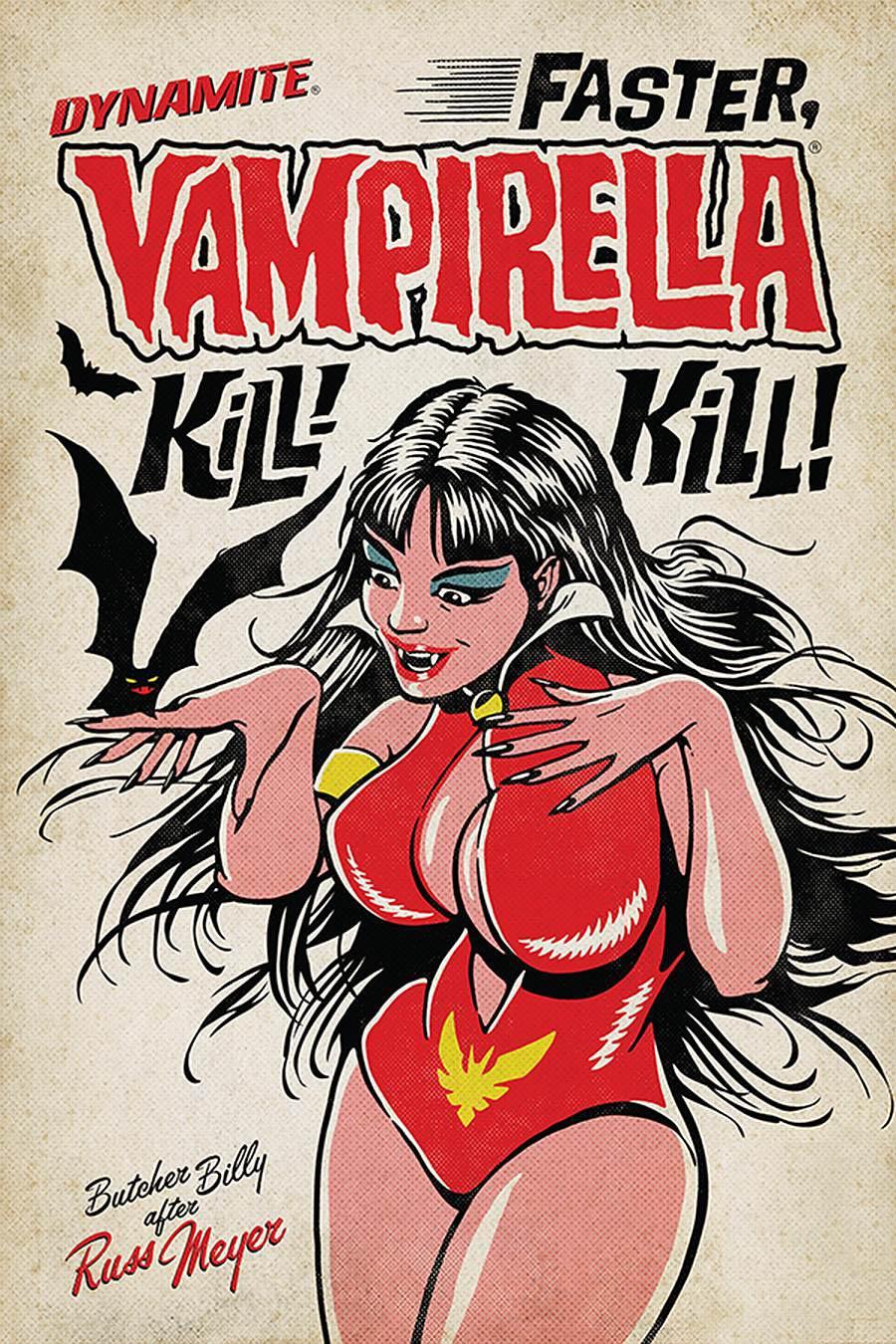 Vampirella Vol 8 #15 Cover C Variant Butcher Billy Cover