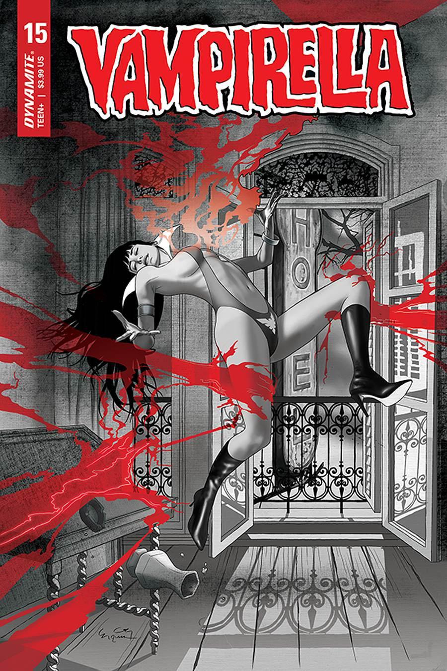 Vampirella Vol 8 #15 Cover D Variant Ergun Gunduz Cover