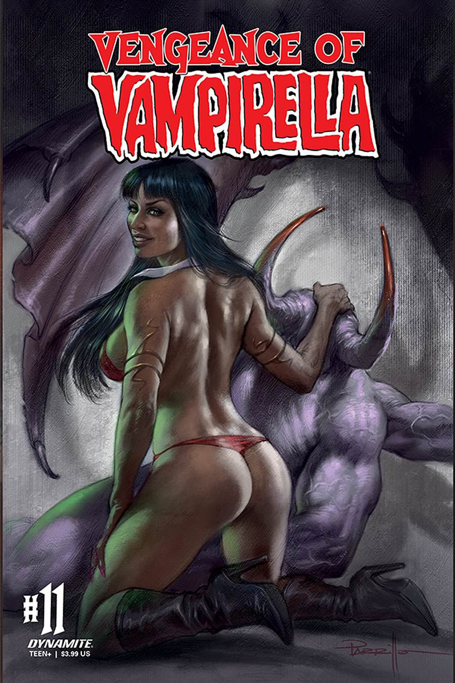 Vengeance Of Vampirella Vol 2 #11 Cover A Regular Lucio Parrillo Cover