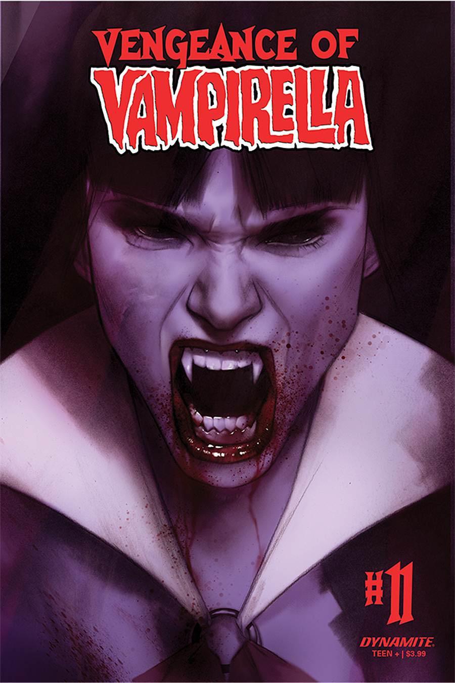 Vengeance Of Vampirella Vol 2 #11 Cover B Variant Ben Oliver Cover