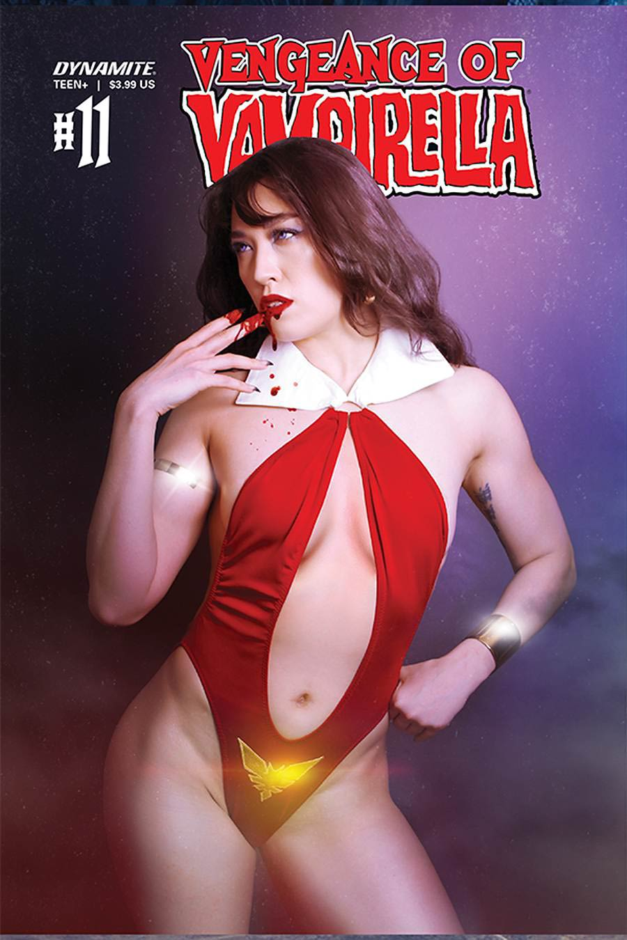 Vengeance Of Vampirella Vol 2 #11 Cover D Variant Krista Lee Cosplay Photo Cover