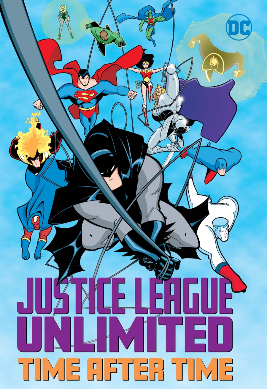 Justice League Unlimited Time After Time TP