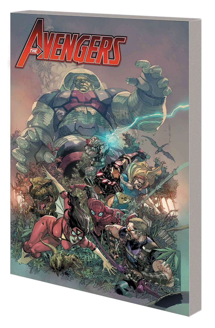 Avengers By Jonathan Hickman Complete Collection Vol 2 TP