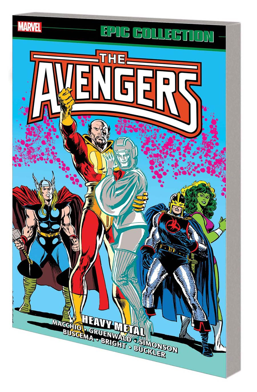 Avengers Epic Collection Vol 18 Heavy Metal TP