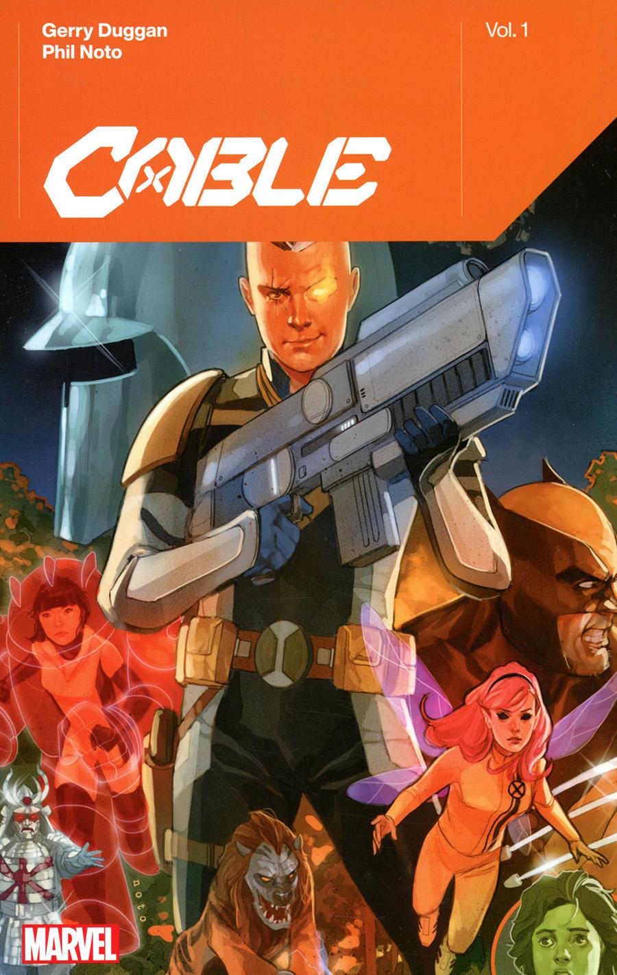 Cable By Gerry Duggan Vol 1 TP