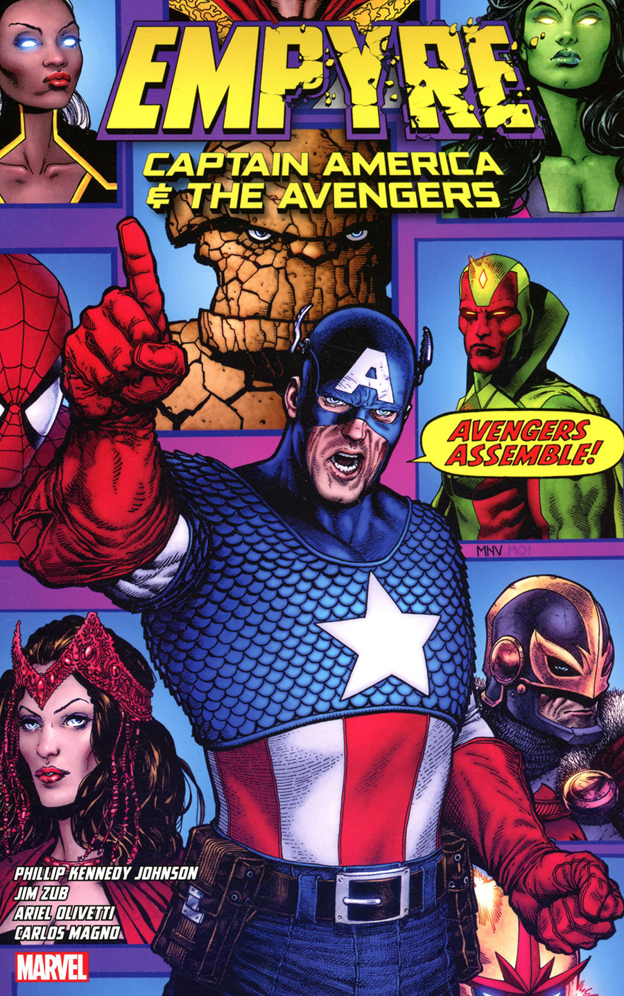 Empyre Captain America And The Avengers TP