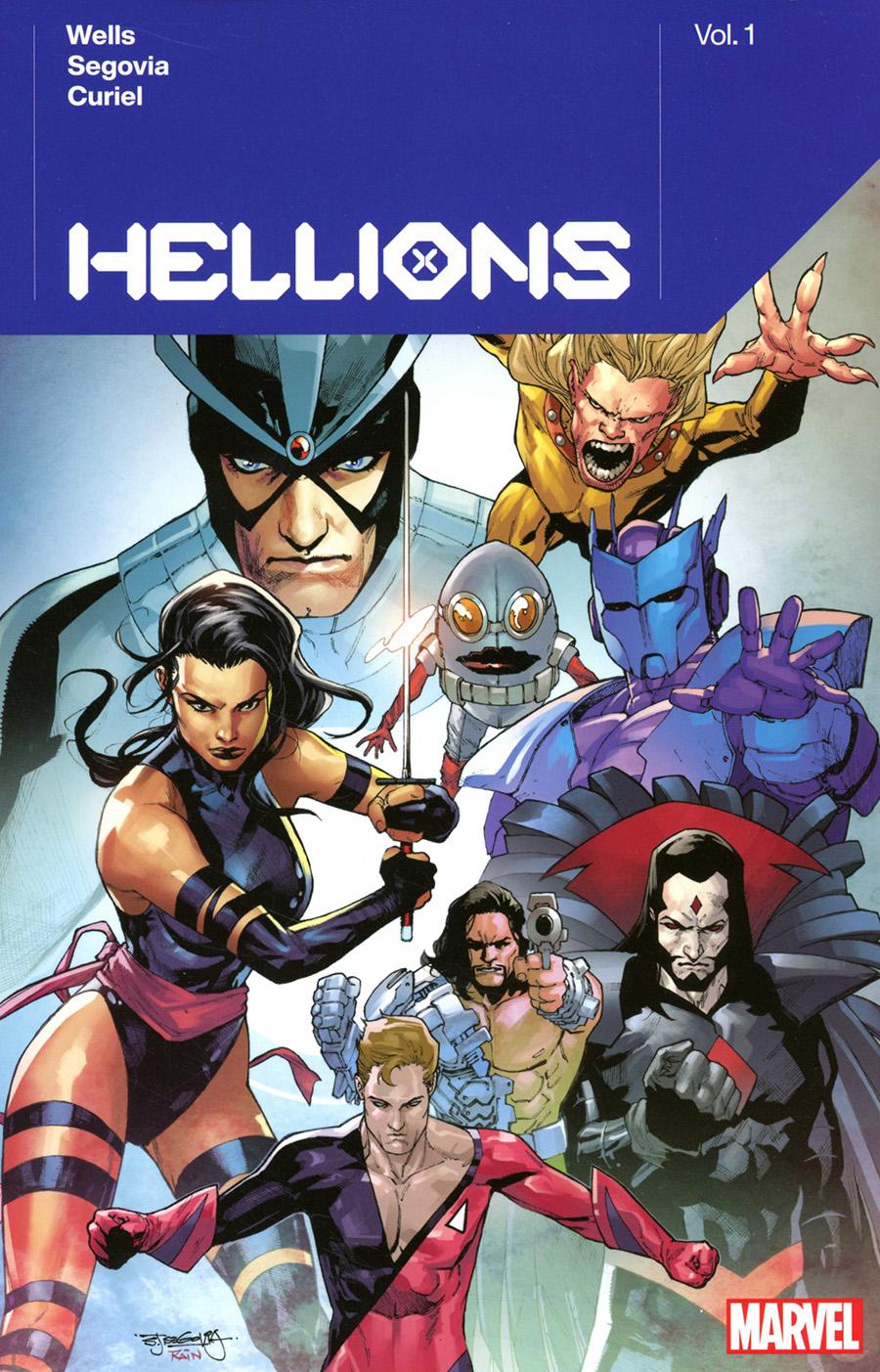 Hellions By Zeb Wells Vol 1 TP