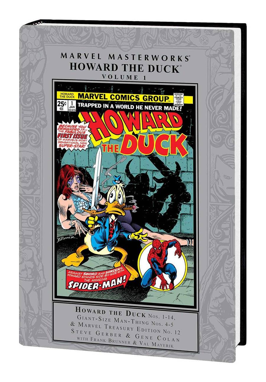 Marvel Masterworks Howard The Duck Vol 1 HC Regular Dust Jacket