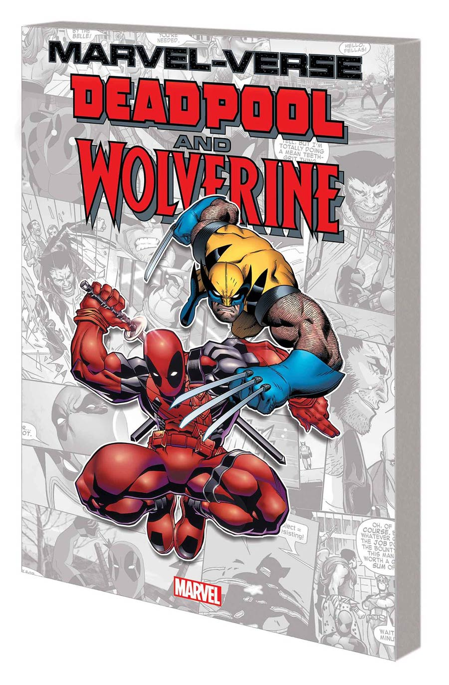 Marvel-Verse Deadpool And Wolverine GN