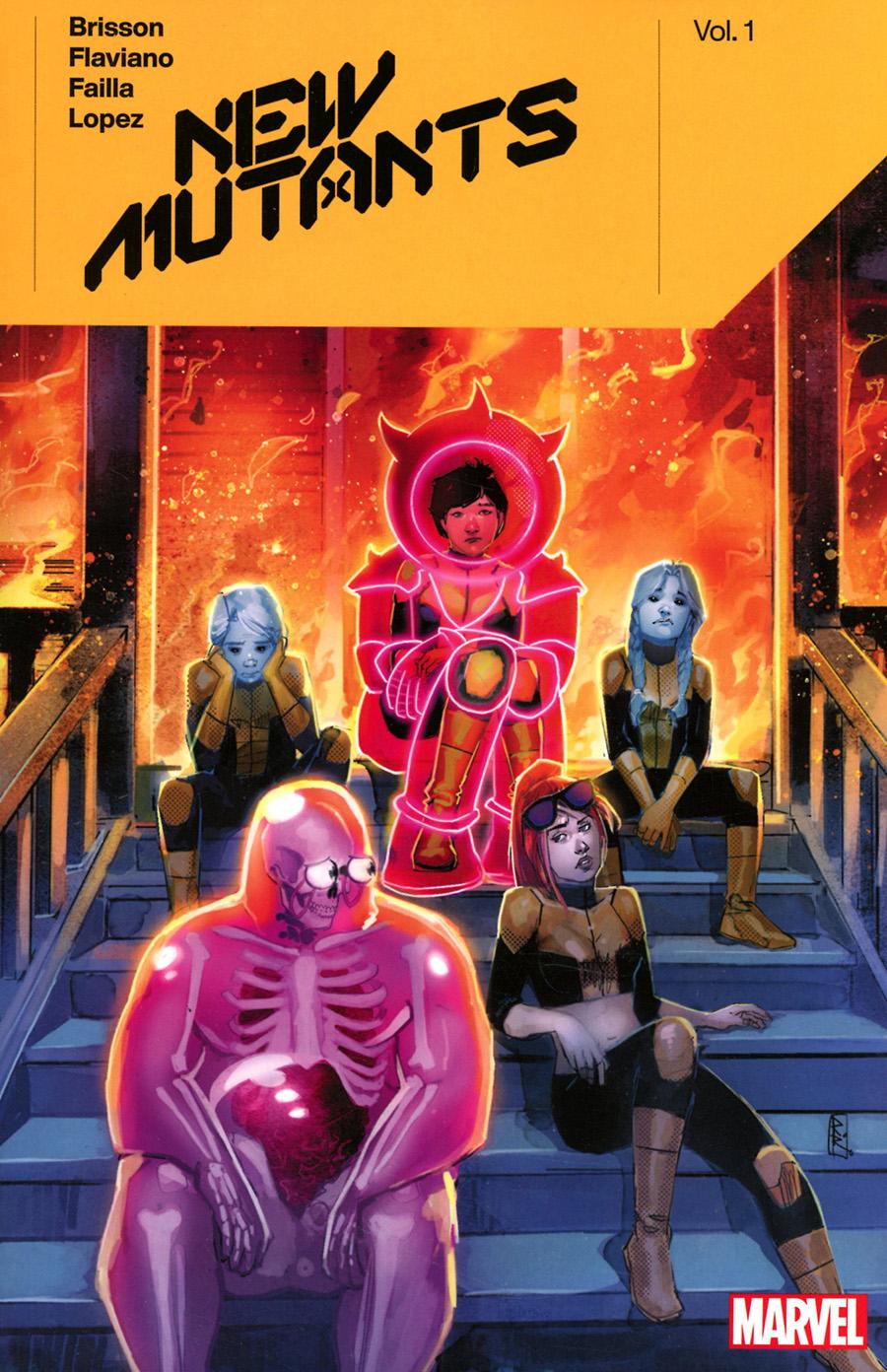 New Mutants By Ed Brisson Vol 1 TP