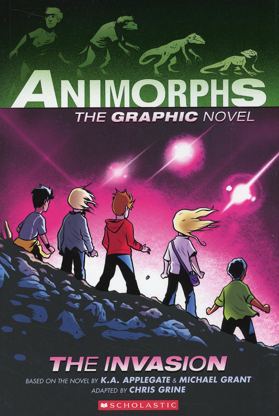 Animorphs The Graphic Novel Vol 1 The Invasion TP