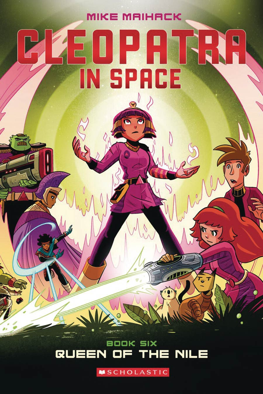 Cleopatra In Space Vol 6 Queen Of The Nile TP
