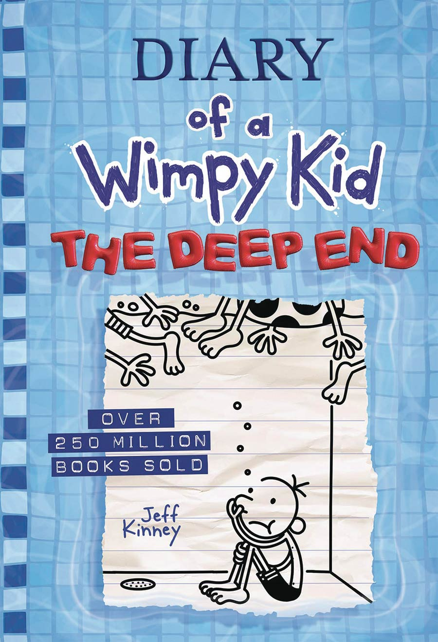 Diary Of A Wimpy Kid Vol 15 The Deep End HC