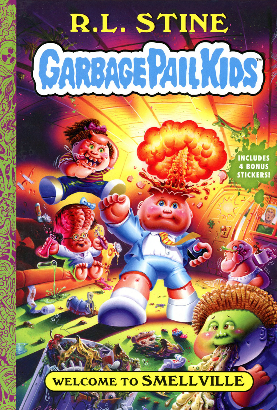 Garbage Pail Kids Vol 1 Welcome To Smellville HC