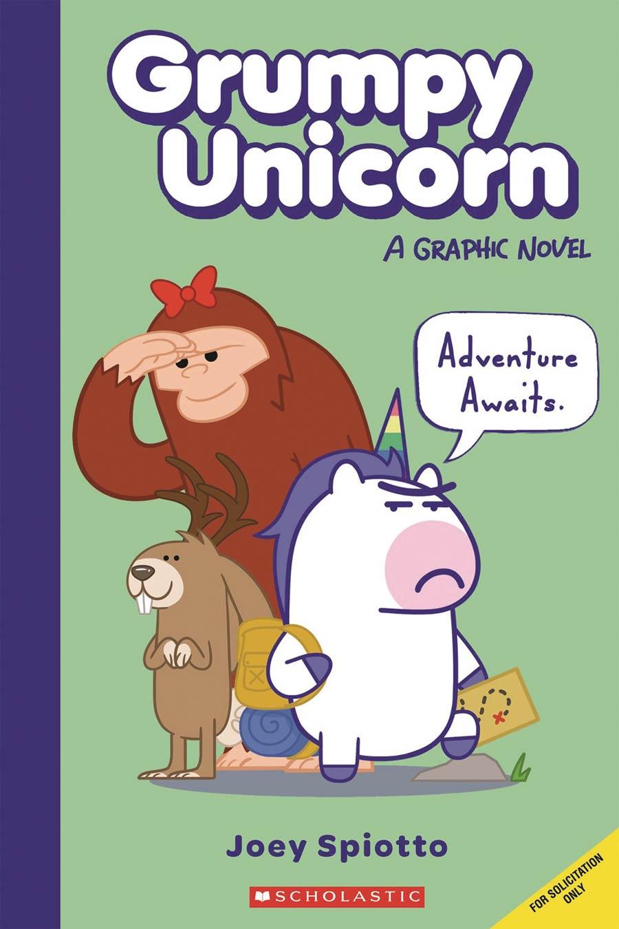 Grumpy Unicorn Vol 1 Grumpy Unicorn Hits The Road TP