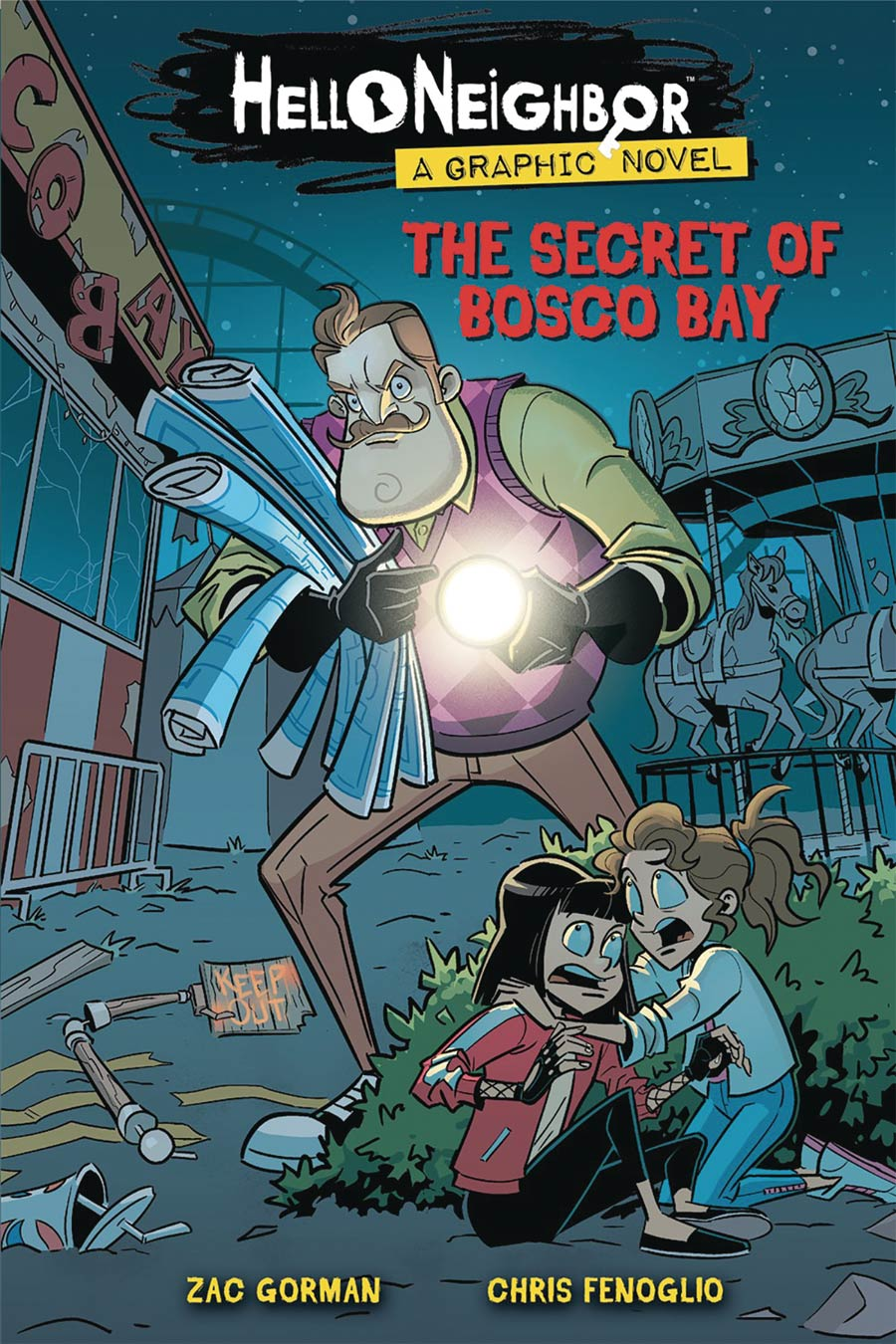 Hello Neighbor Vol 1 Secret Of Bosco Bay TP